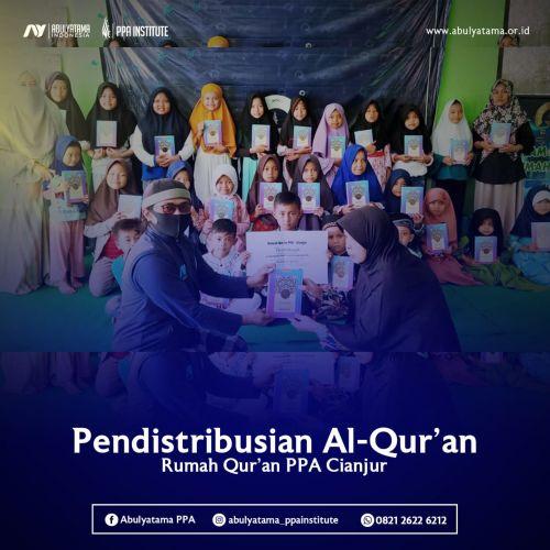 500 Mushaf Al Quran untuk RQPPA