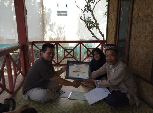 Akad Ikrar Wakaf Alumni PPA Banjar Jawa Barat