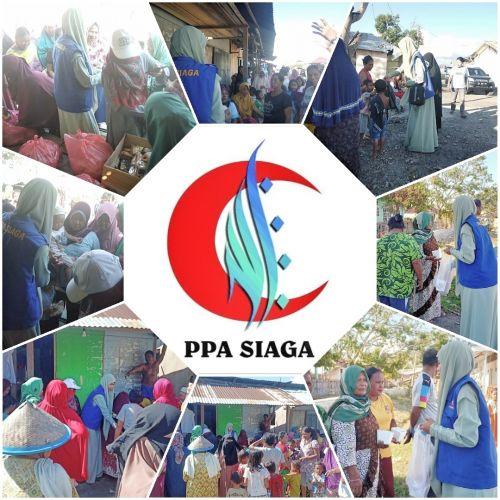 Aktivitas PPA Siaga Tanggap Bencana Banjir Sirenja Sulawesi Tengah