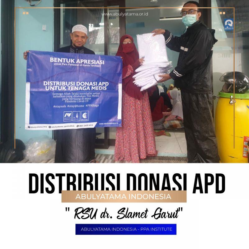 Distribusi APD untuk RS dr. Slamet Garut