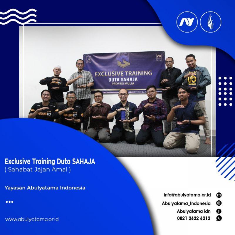 Exclusive Training Duta Sahaja