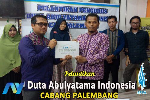 Pelantikan Pengurus Duta Abulyatama Cabang Palembang