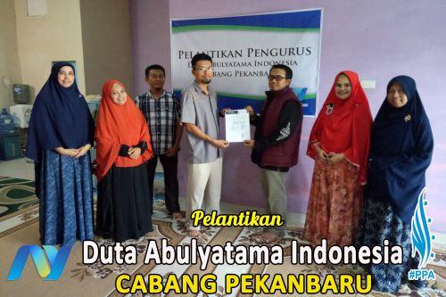 Pelantikan Pengurus Duta Abulyatama Cabang Pekanbaru