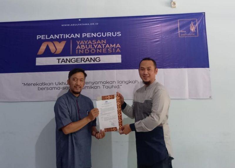Pengangkatan Ketua YAI Cabang Tangerang : Menguatkan Arah Langkah dalam Peradaban EOA
