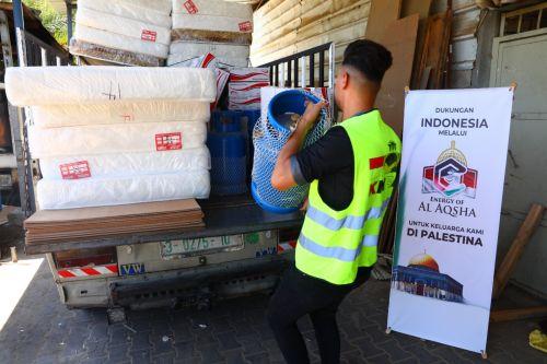 Penyaluran Donasi Kepada 10 Keluarga Palestina