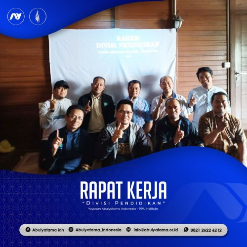 Raker Divisi Pendidikan Abulyatama Indonesia - PPA Institute