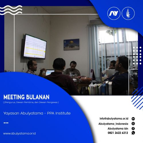 Rapat Bulanan Pengurus, Dewan Pembina dan Dewan Pengawas