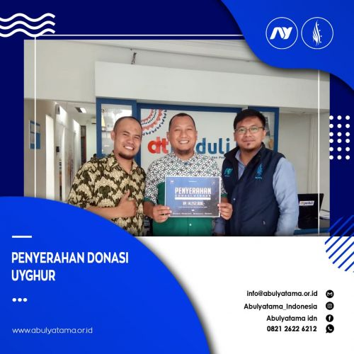 Serah Terima Donasi Uyghur