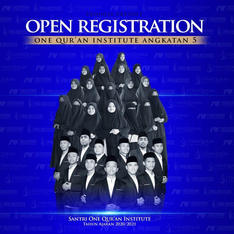 TELAH DIBUKA PROGRAM FULL BEASISWA PENGHAFAL AL-QURAN