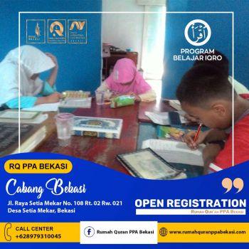 Belajar Ngaji Di Rumah Quran PPA Bekasi