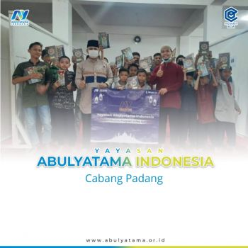 Penyaluran Infak Al Quran YAI Padang