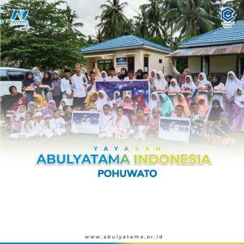 Peringati Hari Santri, YAI-PPALC Pohuwato berbagi bersama Santri Rumah Qur`an PPA