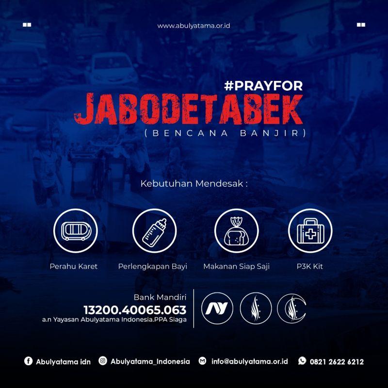 PRAY FOR JABODETABEK