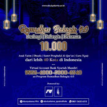 Program Ramadhan Bahagia 4.0