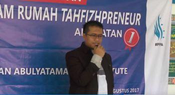 Wisuda Rumah TahfidzPreneur Abulayatama - PPA Institute Angkatan 1